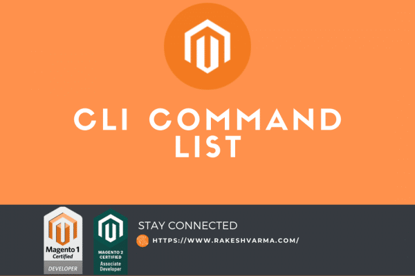 Magento 2 Useful CLI Command List