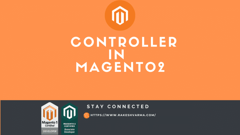 Create Controller In Magento2
