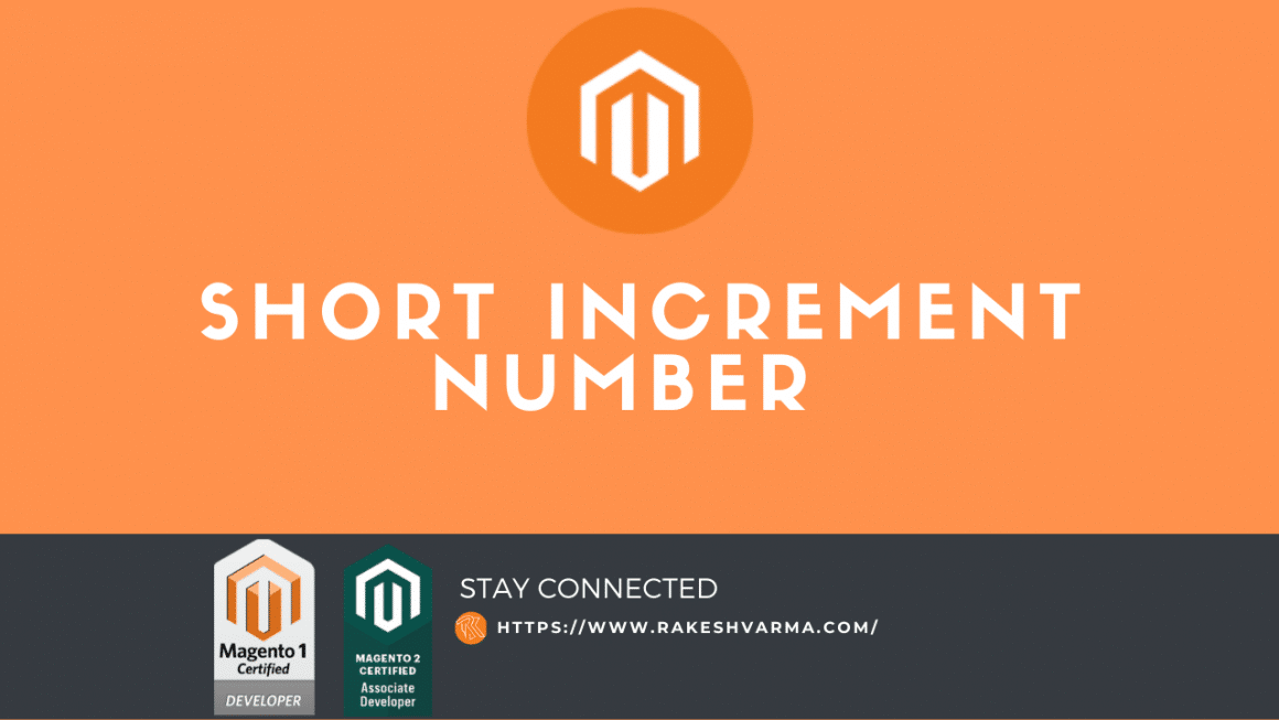 Short Increment number