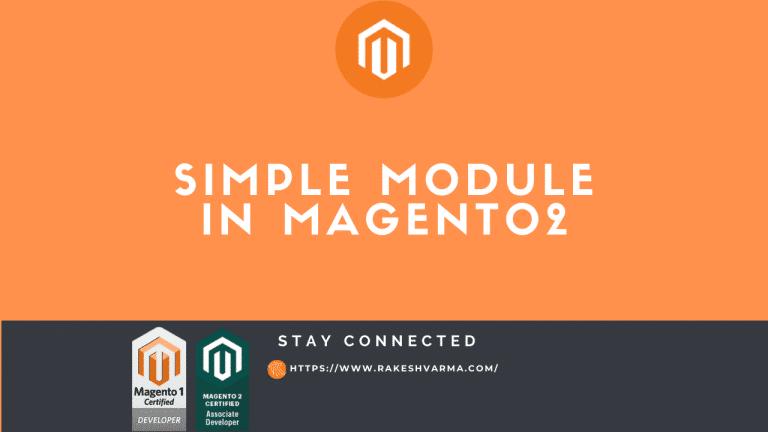 Create a Module in Magento 2